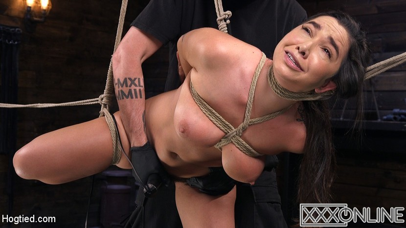 Hogtied.com – Submissive Big Tits in Brutal.. Karlee Grey 2018 Big Tits