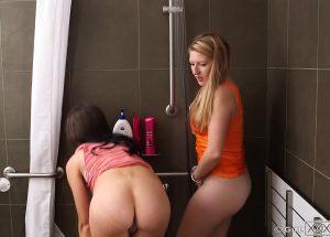 Girlsoutwest.com - Alana & Prim - Shower RAW Alana & Prim 2014 Sex Toy